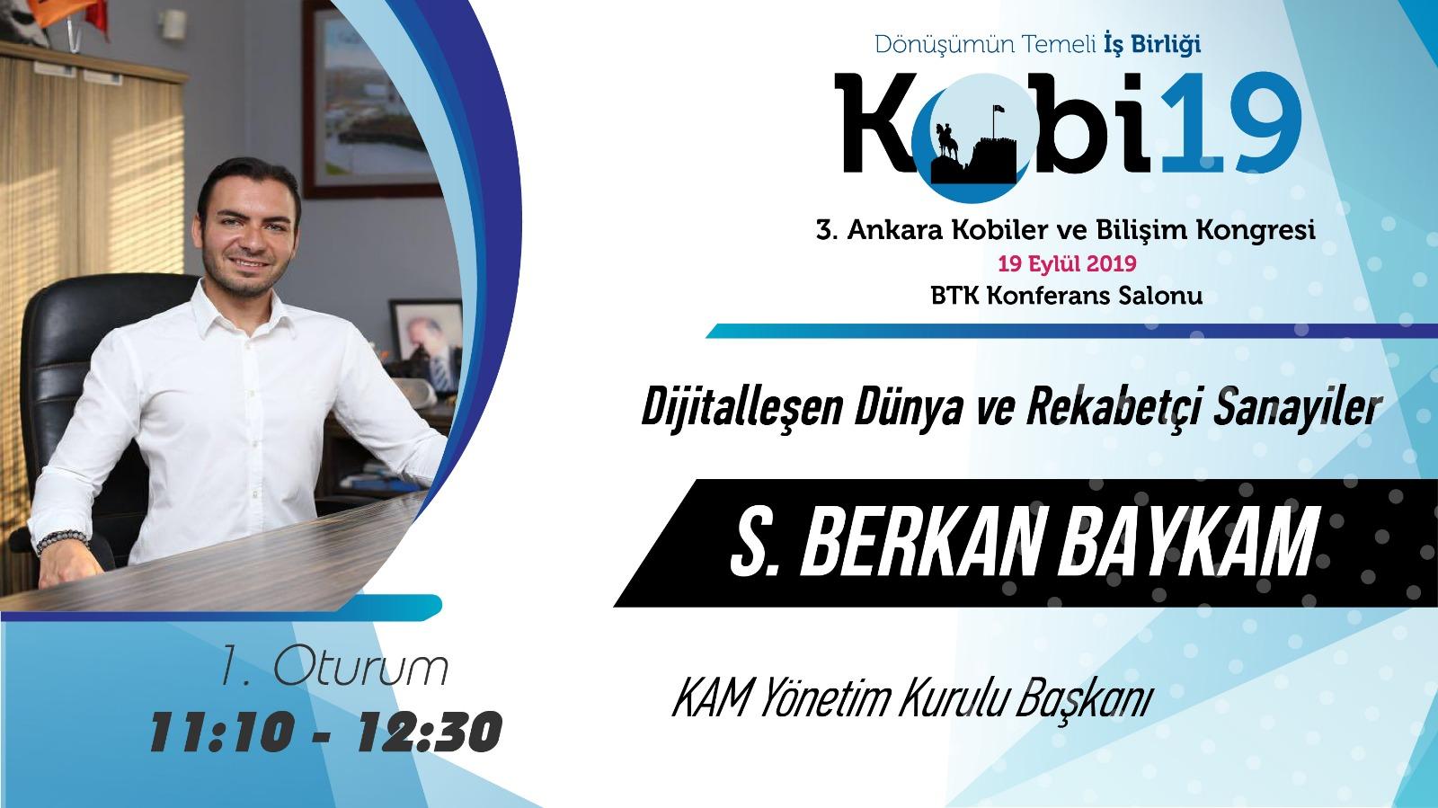 S. Berkan Baykam - 3. Ankara Kobi Bilişim 2019