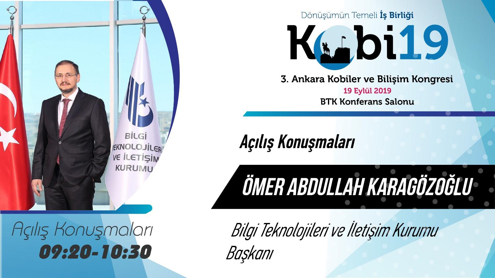 Ömer Abdullah KARAGÖZOĞLU - 3. Ankara Kobiler ve Bilişim Kongresi 2019
