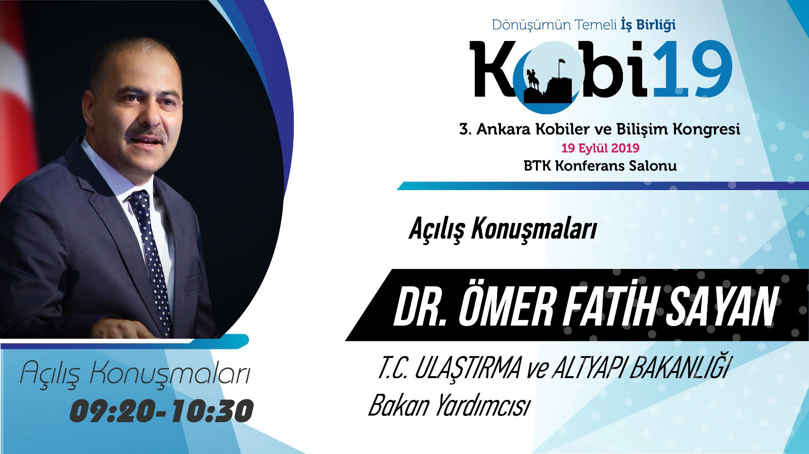 Ömer Fatih SAYAN - 3. Ankara Kobiler ve Bilişim Konferansı 2019