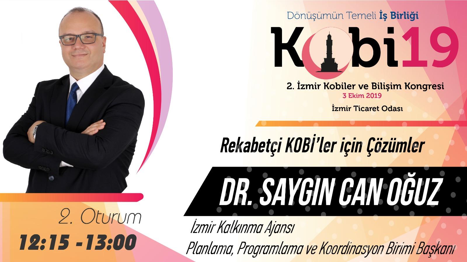 Saygın Can OĞUZ - 2. İzmir Kobiler ve Bilişim Kongresi 2019